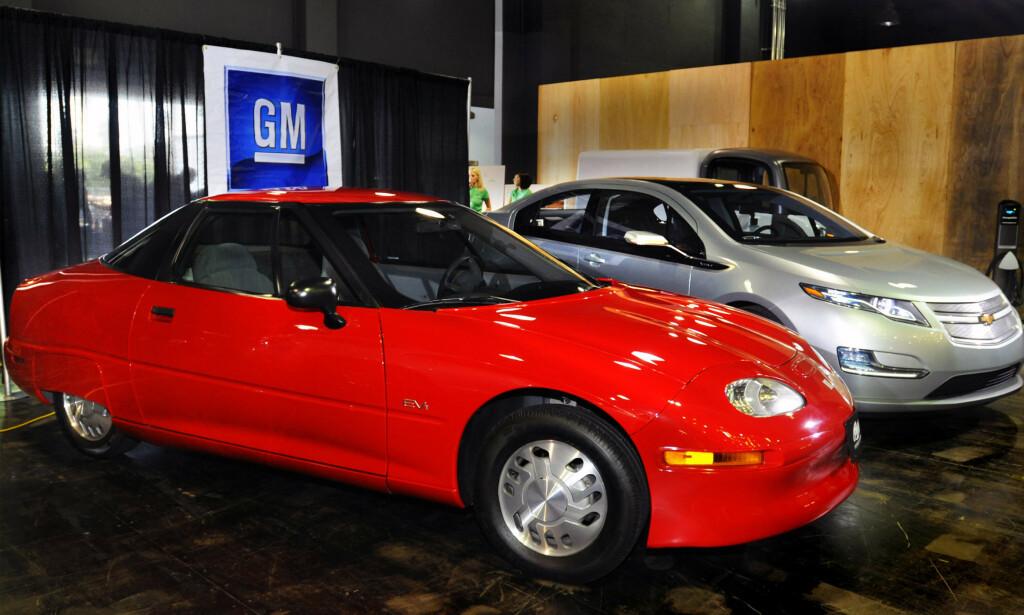 UPOPULÆR ELBIL: GM EV1 var elbilen ingen ville ha. Foto: GM