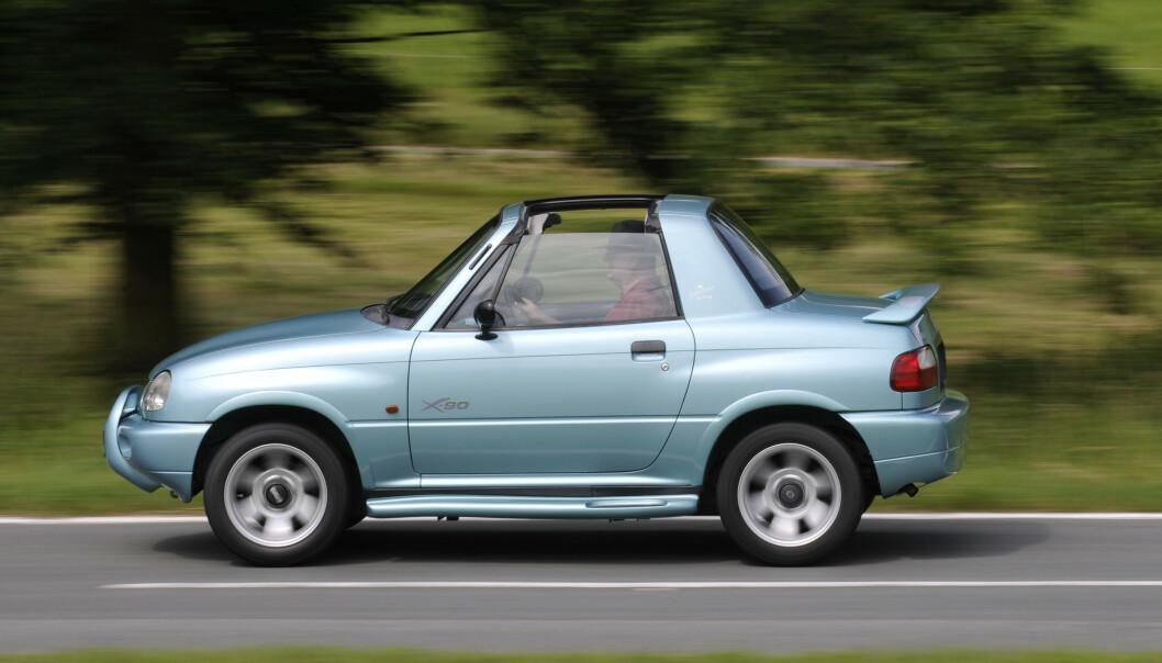 <strong>SUZUKI:</strong> Bilen var ubrukbar til det meste. Foto: Suzuki