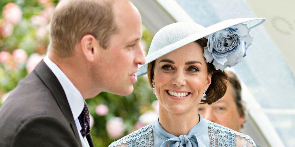 image: William og Kate reiste med rutefly