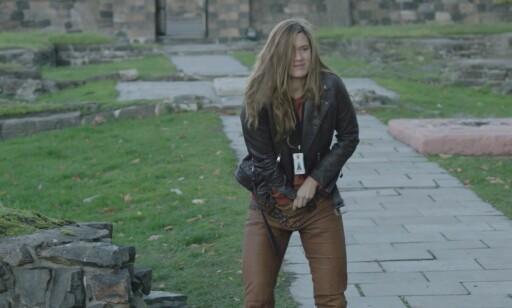 BRUKER MOSE: Alfhildr, spilt av Krista Kosonen. Skjermdump: HBO
