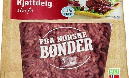 image: Mistanke om salmonella - tilbakekaller flere typer kjøttdeig