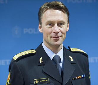 <strong>I KAMP MOT RÅKJØRING:</strong> UP-sjef Steven Hasseldal får nå alle tilgjengelige patruljer tilbake i tjeneste. Foto: NTB scanpix