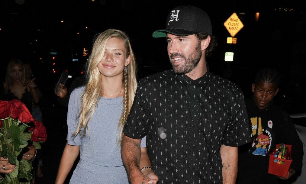 NYTT PAR: Brody Jenner har de siste ukene blitt koblet til Victoria's Secret-modellen Josie Canseco. Nå viser paret seg offentlig sammen. Foto: NTB Scanpix