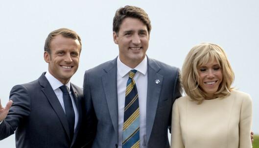 G7-toppene ble servert utrydningstruet fisk