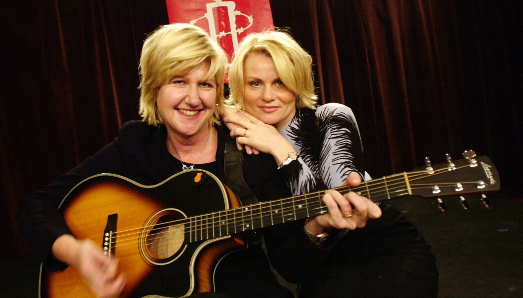 - BEUNDRET HENNE: Mia Gundersen og Anne Grete Preus spilte sammen under Amnestykonserten i 2002, en konsert Gundersen tok initiativ til. - Jeg beundret henne, sier hun. Foto: Erlend Aas / NTB scanpix