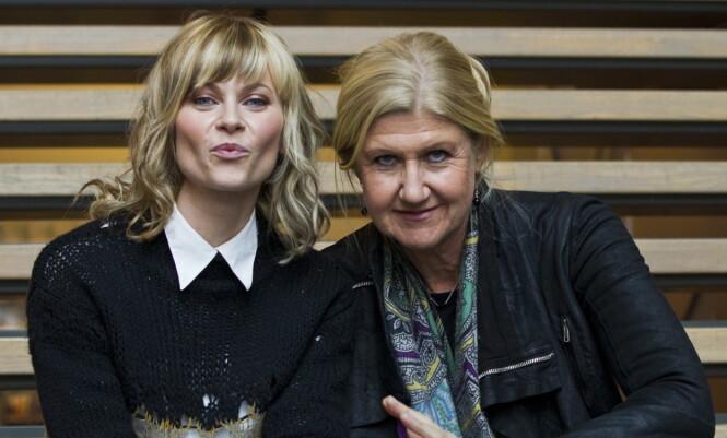 - ET FORBILDE: Bertine Zetlitz og Anne Grete Preus var med i Hver gang vi møtes i 2012. Zetlitz sier at Preus var et forbilde. Foto: Vegard Wivestad Grøtt / NTB scanpix