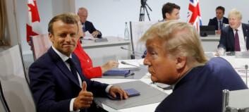 Har Frankrikes president klart å utmanøvrere Donald Trump?