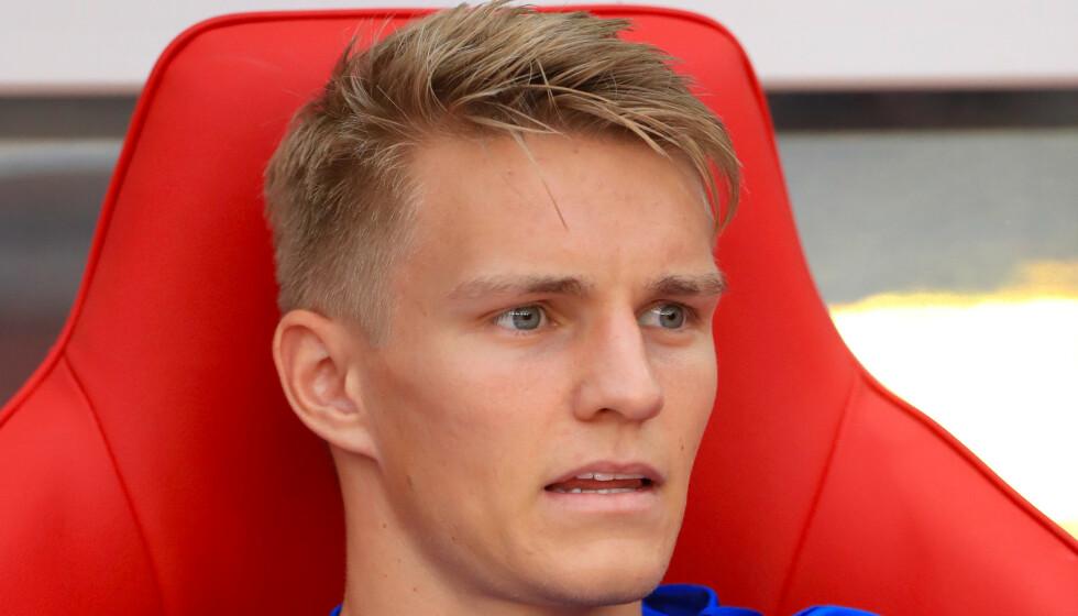 <strong>UAKTUELL:</strong> Martin Ødegaard spiller ikke treningskampen mot Getafe i dag. Foto: NTB scanpix