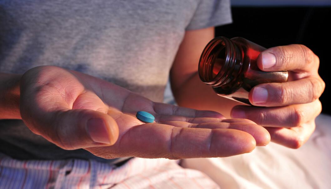 VIAGRA BLIR RESEPTFRITT: Fra 2020 trenger du ikke lenger konsultere legen dersom du trenger hjelp mot potensproblemer. Foto: Shutterstock / NTB scanpix