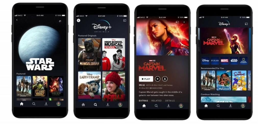 GJØR SEG KLAR: I november går startskuddet for Disneys nye storsatsning, Disney+. Foto: Disney