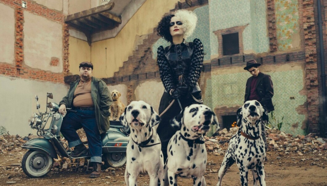 101 DALMATINERE: Emma Stone (30) har kapret rollen som den onde motedesigneren, Cruella de Vil. FOTO: Disney