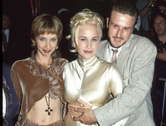 <strong>SKUESPILLERFAMILIE:</strong> Her er søknene Rosanna Arquette, Patricia Arquette and David Arquette avbildet sammen i 2005. Foto: NTB Scanpix