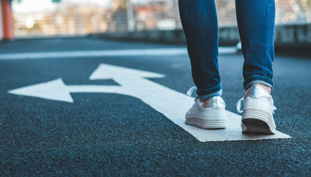 VEIVALG: Kjenner du verdiene dine, vil du ha lettere for å ta avgjørende valg. FOTO: NTB scanpix