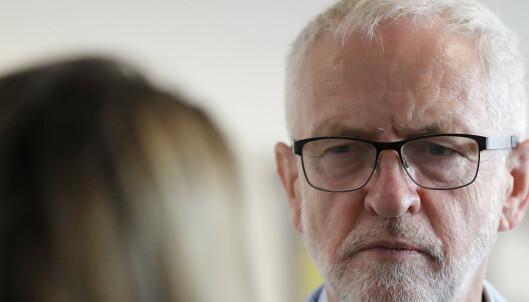 Corbyn trapper opp kampen mot hard brexit