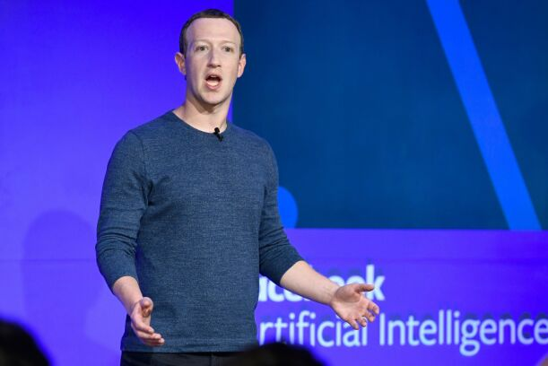 "(FILES) In this file photo taken on May 23, 2018 Facebook CEO Mark Zuckerberg speaks during a press conference in Paris. - Facebook unveiled on June 18, 2019 its global crypto-currency ""Libra,"" in a new initiative in payments for the world's biggest social network with the potential to bring crypto-money out of the shadows and into the mainstream. (Photo by BERTRAND GUAY / AFP)"