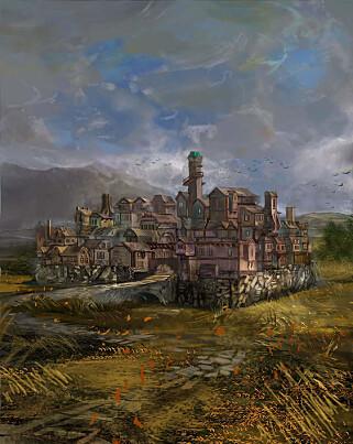 Selv om det meste av Adventur Delux består av bilder du må finne på selv, har spillet noen konseptbilder av stedene du besøker.