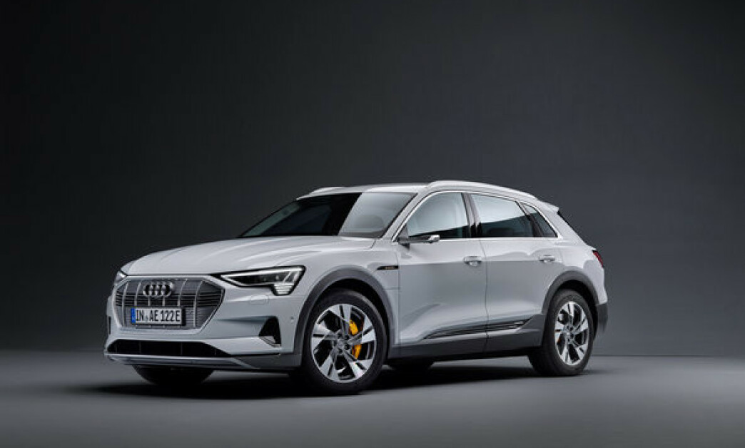 <strong>PRISET:</strong> Innstegsmodellen Audi e-tron 50 blir 160.000 kroner rimeligere enn e-tron 55. Foto: Audi