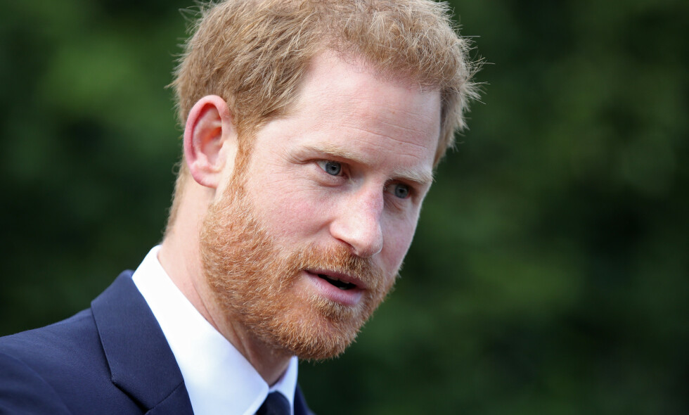 MISTET VENN: Prins Harry mistet en nær venn i begynnelsen av august. Foto: NTB Scanpix