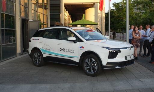 image: Her viser kinesiske Aiways frem sin nye elbil i Oslo