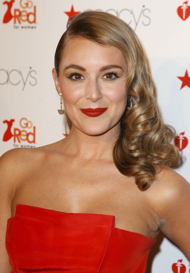 ALEXA VEGA: I dag er den tidligere «Småspioner»-skuespilleren gift og har to barn. FOTO: NTB Scanpix