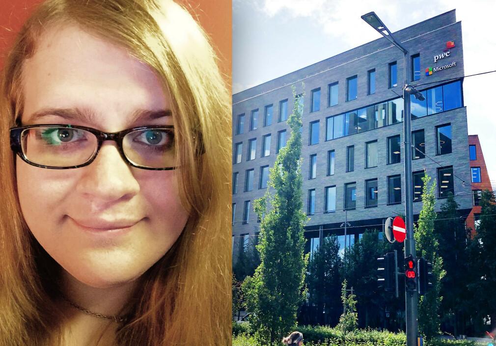 Cailin Smith jobber hos Microsoft i Barcode. På fritida lager hun sitt eget programmeringsspråk; MethodScript. 📸: Privat
