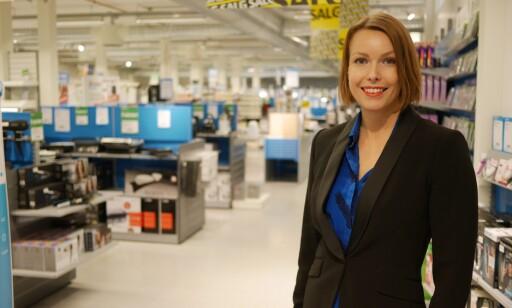 BRUKES TIL PENDLING: Kommunikasjonssjef Marte Ottemo i Stiftelsen Elektronikkbransjen forteller at elsparkesyklene blir brukt mye til pendling. Foto: Stian Sønsteng.