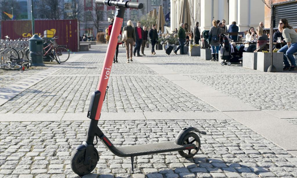 POPULÆRE: El-sparkesykler har blitt populære i Norge. Foto: Fredrik Hagen/NTB scanpix.