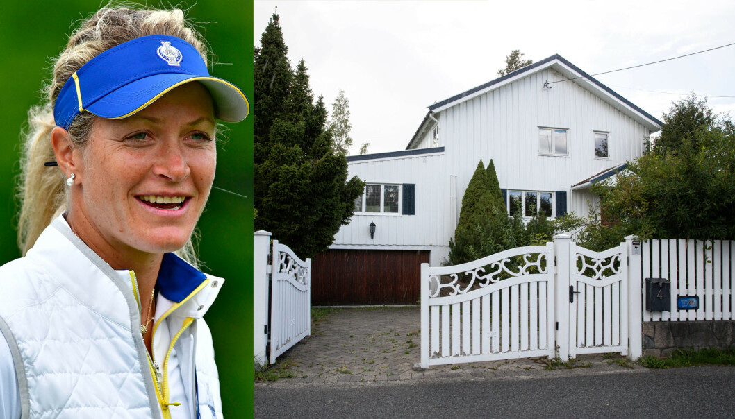SOLGT: Golfstjernen flyttet hjem til Norge for å slå seg til ro i Oslo, men nå har Suzann Pettersen og ektemannen solgt boligen de kjøpte i fjor. Det med tap. Foto: NTB Scanpix / Andreas Fadum