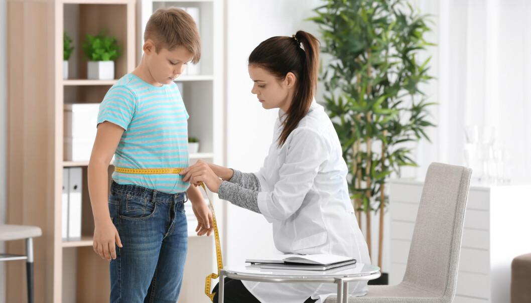 BLIR PÅVIRKET: Barn og unge er lettere påvirkelig når det gjelder både kroppspress og utvikling av spiseproblematikk, sier ekspert.
