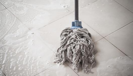 Kan gjøre gulvet mer møkkete