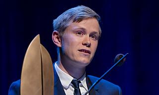 REKORD: Leder Gaute Eiterjord i Natur og Ungdom mener det går mot tidenes største klimamarkering i dag. Foto: Håkon Mosvold Larsen / NTB scanpix