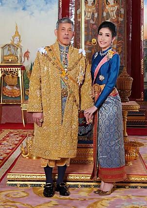 FORMELT: Her er duoen avbildet sammen i mer formelle klær. Foto: NTB Scanpix
