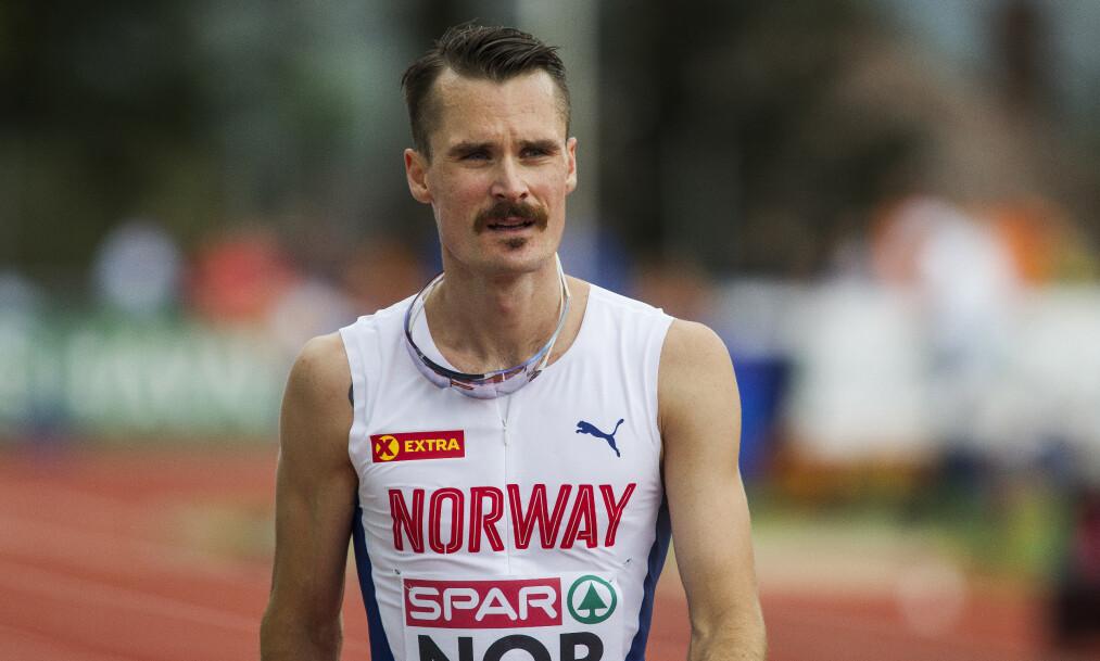 <strong>I FINALEN:</strong> Henrik Ingebrigtsen løp Diamond League-finalen i kveld. Foto: NTB Scanpix