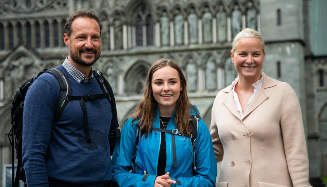 Kong Felipe til prinsessekonfirmasjon i Oslo