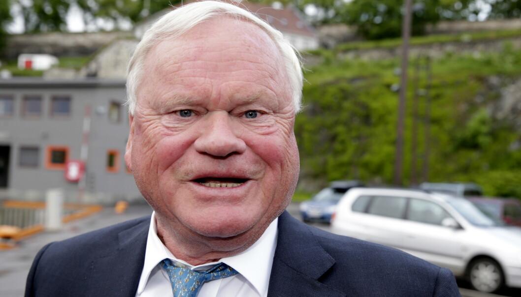 Skipsreder John Fredriksen vil ikke overlate selskapet til døtrene sine. Foto: Håkon Mosvold Larsen / NTB scanpix