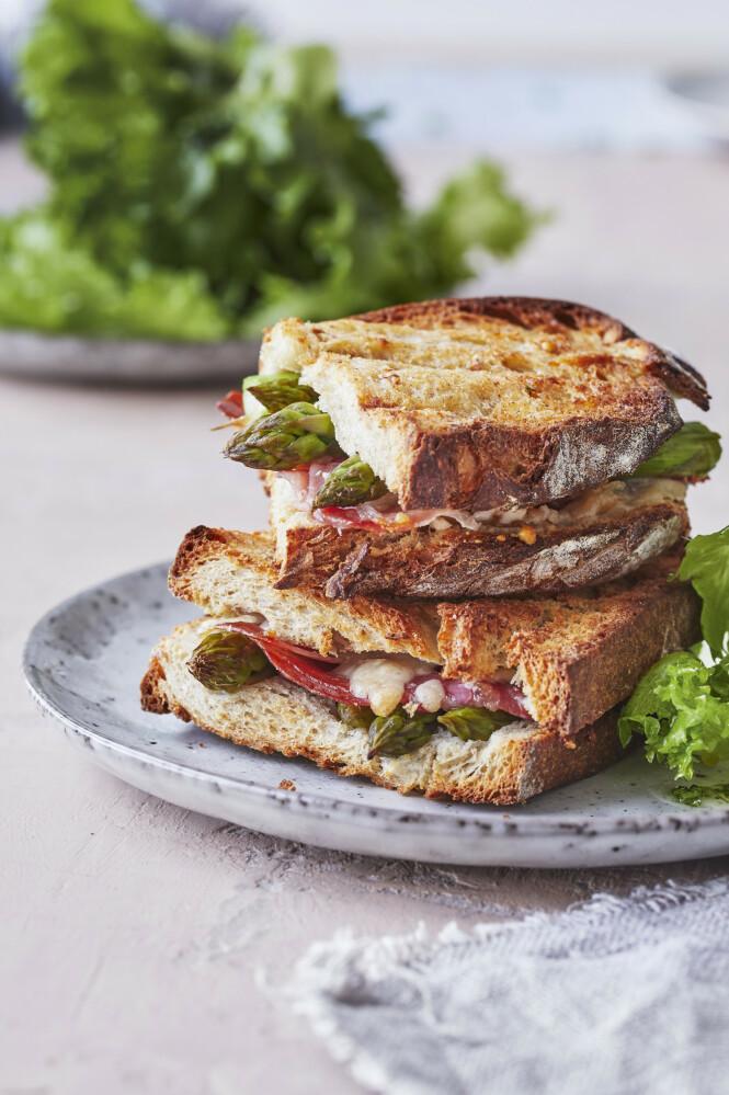 Når du bruker gode råvarer, blir det plutselig en sann luksus når det står toast på menyen. FOTO: Winnie Methmann