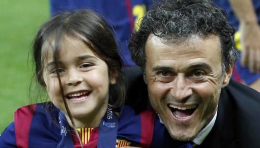 Luis Enriques datter døde av kreft