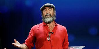 image: Cantona-tale vekker oppsikt