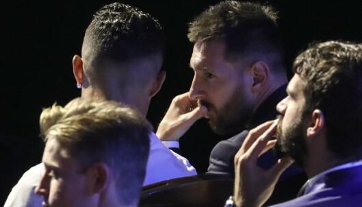 Ronaldo til Messi: – Håper vi kan spise middag sammen en dag