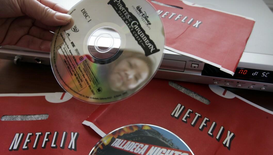 Da Netflix kom i posten