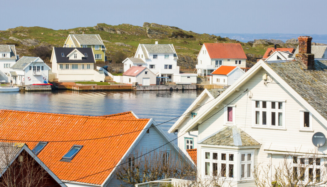 <strong>BEGRENSET:</strong> Innbyggerne på Kvitsøy har kun én matbutikk tilgjengelig av fysisk format på øya. Da er Internett og nettbutikker kjærkomment. Foto: Kvitsøy kommune.