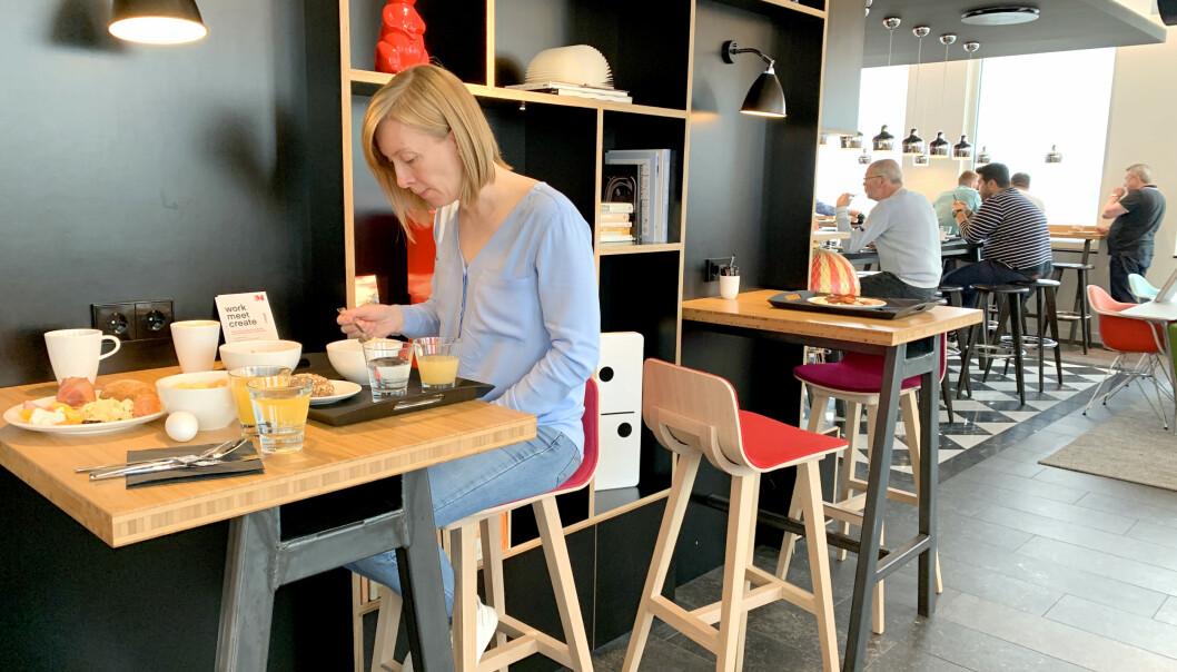 <strong>FROKOSTSALEN:</strong> «Frokostsalen» er det samme som vrimleområdet. Foto: Kristin Sørdal