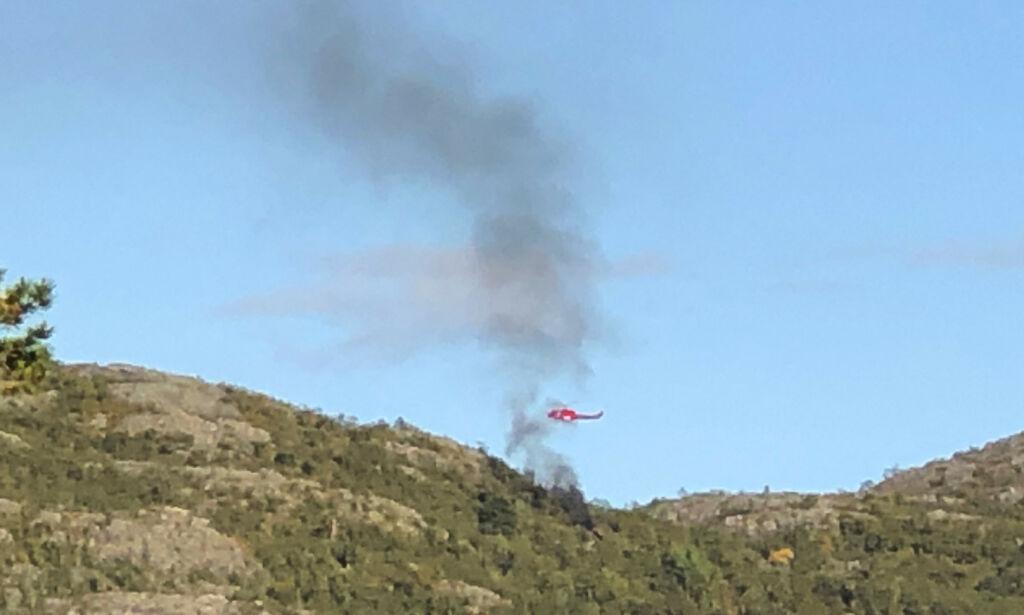 image: Seks omkom i helikopterulykken - fem av dem var i tidlig 20-årene