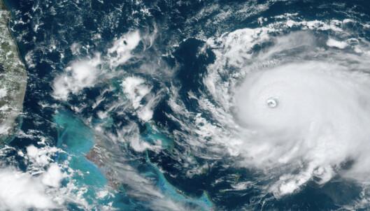 Orkanen Dorian oppjustert til kategori 5