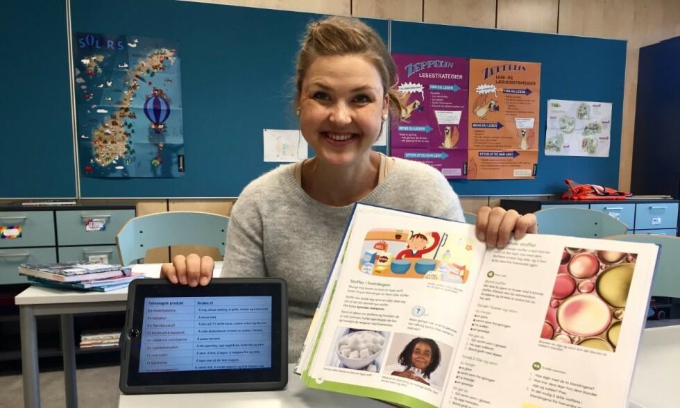 BØKER: Gi skolene mulighet til innkjøp av tradisjonelle bøker så vi ikke drukner i det digitale, skriver lektor Liv-Tone Nilsen. Foto: Privat