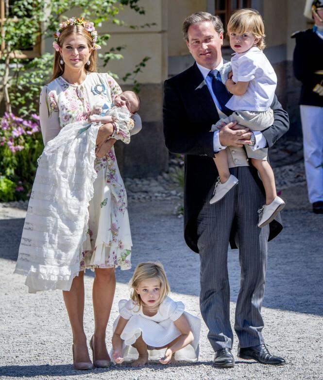 UTSATT: Prinsessen og familien bor i Florida. Utifra værprognosene kan de bli nødt til å flykte. Foto: NTB Scanpix