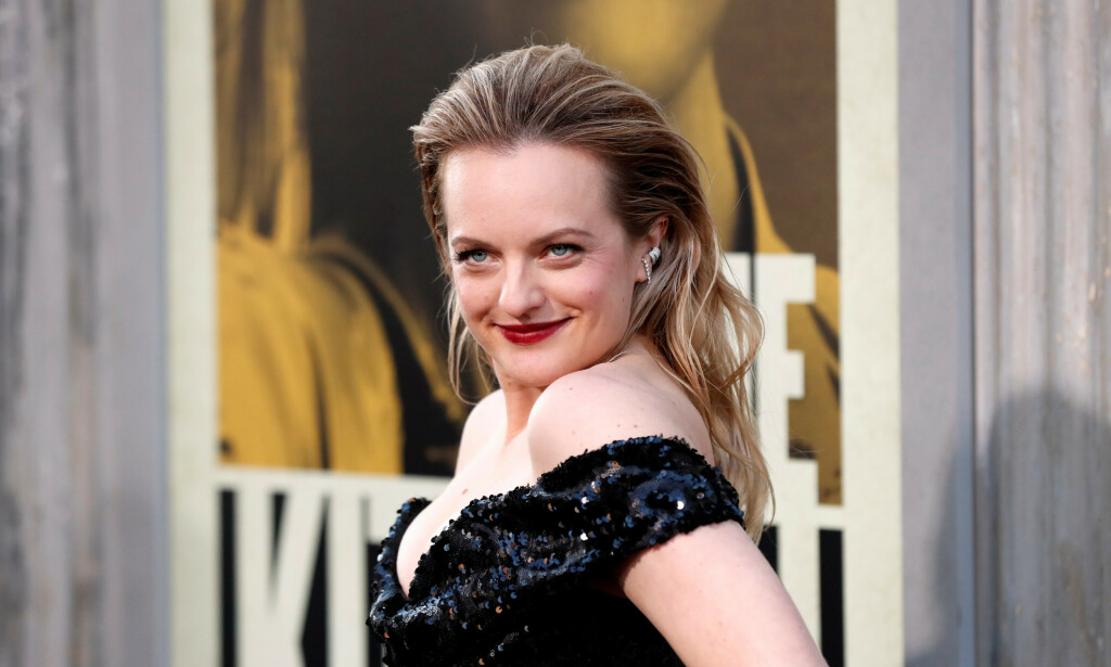 I VINDEN: Hollywood-stjernen Elisabeth Moss har blant annet vunnet to Emmy Awards og to Golden Globe Awards for sine skuespillerprestasjoner. Foto: NTB Scanpix