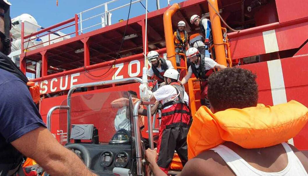 Ocean Viking setter kursen mot Libya for å redde flere