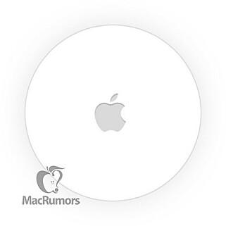 SLIK SER DEN UT: Dette skal være Apples nye sporingsbrikke, ifølge MacRumors.