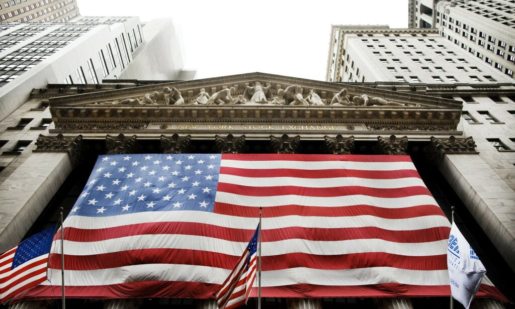 New York Stock Exchange. Foto: Linus Sundahl-Djerf